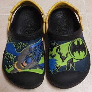 Boys Batman Crocs/Slippers 3